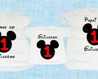 Kit Familia mickey 3