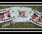 Camisetas Estampadas da Minnie e Mickey