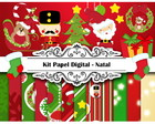 Kit Scrap Digital - Natal