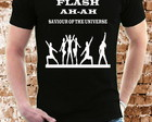 CAMISETA FLASH FREDDIE MERCURY