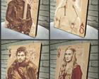 Combo Poster /Quadro Game of Thrones