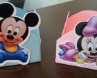 Forminhas Mickey e Minnie Baby