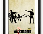 Quadro Walking Dead Paspatur 51x39CM