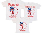 Kit 3 Camiseta Miraculous