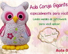 Curso Coruja Gigante By Susana Hasten