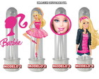 Tubete com Aplique - Barbie