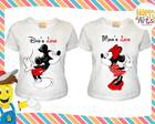 Kit Mickey Minnie Eu e Ela