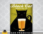 Quadro Black Cat Beer