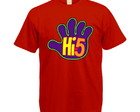 Camiseta Colorida Hi-5