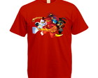 Camiseta Colorida Ninjago
