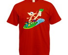 Camiseta Colorida Phineas e Ferb