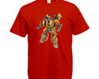 Camiseta Colorida Transformers