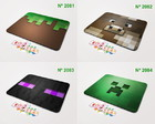 Mouse Pad Minecraft Enderman Creeper