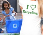 Camiseta Feminina I Love Recycling