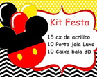 Kit Festa Casa do Mickey