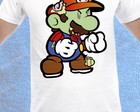 Camiseta do Super Mário Zumbi