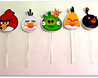 Topper de doce Angry Birds