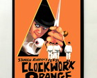 Quadro madeira - Clockwork Orange