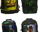 Mochila Porta Notebook Minecraft