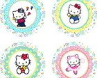 Hello Kitty 15 Adesivos