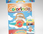 Kit Colorir Aviador + Brindes