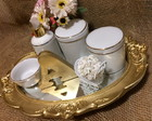 KIT HIGIENE FILETE DOURADO PORCELANA 1