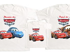 kit 3 camisetas personalizadas Carros 1