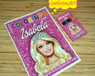 Kit de Colorir Barbie Life