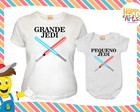 Kit Camiseta e Body Star Wars