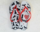 Chinelo I Love Dog - 39/40