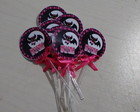 Toppers Personalizados monster high