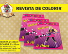 Revista Para Colorir BARBIE POP STAR