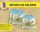Revista Para Colorir CATAVENTO E PIPAS