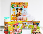 Kit Maleta Mickey Safari com revista