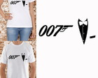 CAMISETA 007 - JAMES BOND