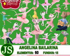 Kit Digital Scrapbook Angelina Bailarina