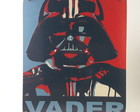 Placa decorativa de MDF Darth Vader