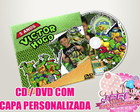 CD / DVD Personalizado - Princesas