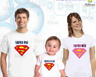 Kit 3 camisetas - Super Herois 1