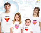 Kit 4 camisetas - Super Herois 1
