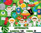 Kit Digital Scrapbook Astronauta