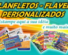 Panfletos, Flayers Personalizados