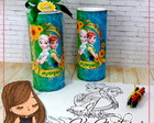 Kit Colorir Maxi Pote Frozen Fever