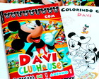 Revista de colorir Mickey Club House