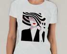 Camiseta French Woman The Hat Babylook