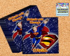 TAG QUADRADA SUPERMAN + LOGO