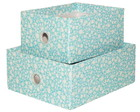 Kit de Organizadores Flowers Blue
