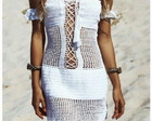 Vestido Crochet . Crochet Dress