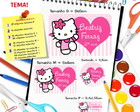 Etiqueta Escolar - Hello Kitty