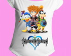Camiseta Kingdom Hearts gola canoa 8